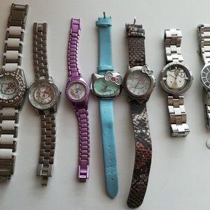 Jewelry - Hello Kitty 6 watches + 1 free